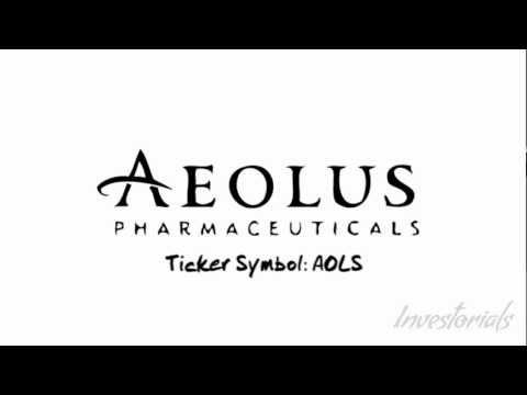 Aeolus Pharmaceuticals, Ticker Symbol:AOLS