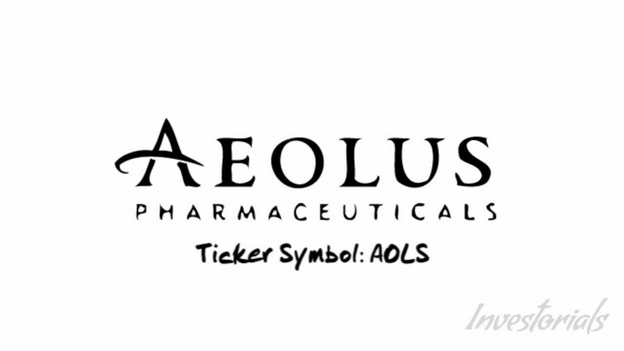 Aeolus Pharmaceuticals Ticker SymbolAOLS