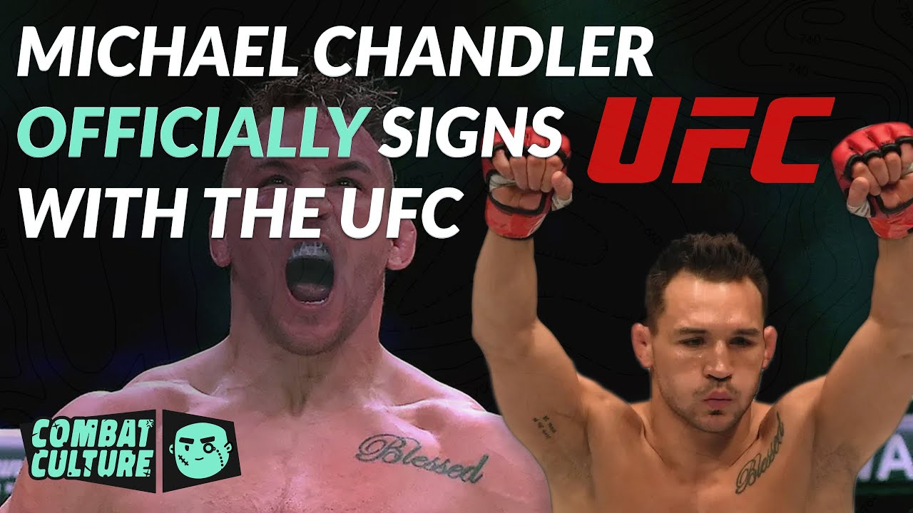 Michael Chandler signs UFC deal, will serve as back up for Khabib ...