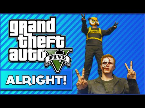 GTA 5 Online Funny Moments: ALRIGHT INC, The Fake Delirious & Selling Drugs and Toilet Paper
