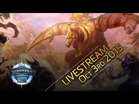 Heroes of the Storm European Championship 2015 – Group Stage Day 2 & Semi Final