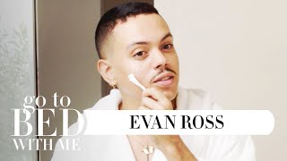 Actor Evan Ross' Nighttime Skincare Routine | Go To Bed With Me | Harper's BAZAAR