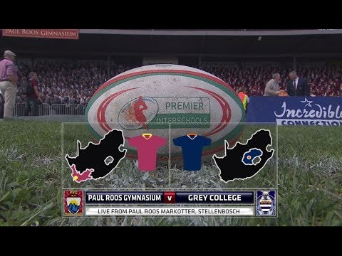 Paul Roos vs Grey College - Premier Interschools Rugby 2017