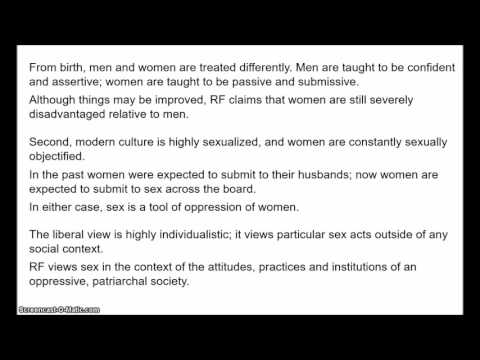 Philosophy of Sex - Consent 4