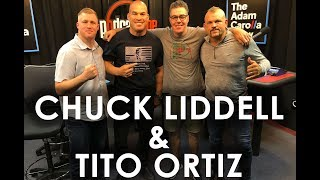 Tito Ortiz and Chuck Liddell on The Adam Carolla Show