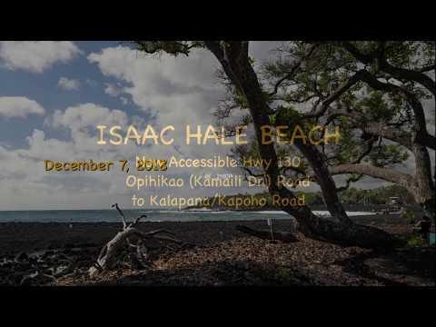 Isaac Hale Beach Park  4K