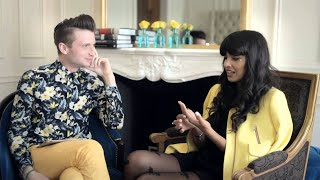 Jameela Jamil - #MyRingsMyStyle Interview with Grazia