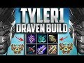 NEW TYLER1 DRAVEN BUILD PATCH 7.15 WITH RUNES AND MASTERIES