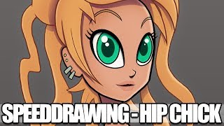 SPEED DRAWING - Hip Chick