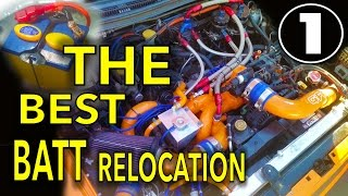 THE ULTIMATE BATTERY RELOCATION | SUBARU | P1