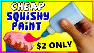 How To Make Squishy Paint at Affordable Price | DIY Puffy/Fabric Paint