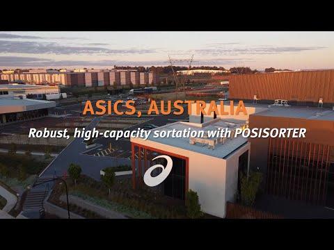 ASICS Australia :  Robust, high capacity sortation with POSISORTER