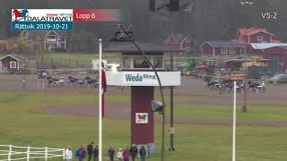 Vidéo de la course PMU PRIX SLEIPNER DALARNAS SILVERPOKAL - SVENSK TRAVSPORTS UNGHASTSERIE - TREARINGSL