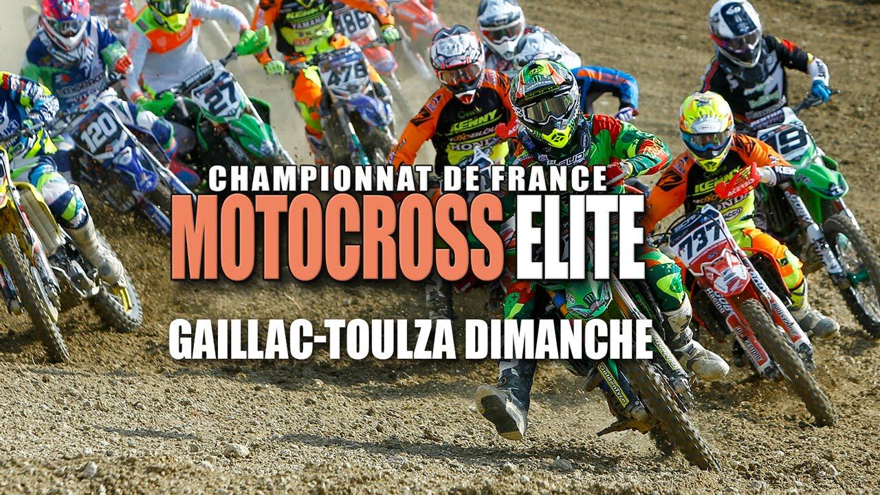 Elite Motocross Gaillac Toulza Resume Youtube