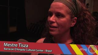 Flagstaff was honored to host Mestres Cabello and Tisza of the Cultural Center Barracão D'Angola Serra Grande Brazil. They put on an amazing show with the help of Avi Henn and his students at Capoiera Amizade at the Coconino Center for the Arts.