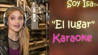 """""""El lugar"""" Wifi Ralph Karol Sevilla Karaoke con letra"""