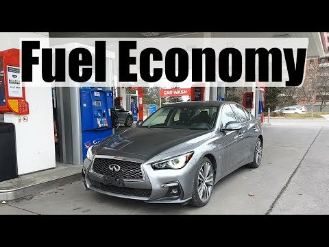 2019 Infiniti Q50 - Fuel Economy MPG Review + Fill Up Costs