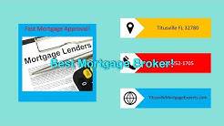 Best Titusville mortgage brokers with easy loan pre approval