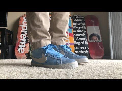 9bf8566949eb3 Nike SB Blazer Lance Mountain English Rose Unboxing and On Feet ...