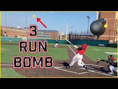College Baseball Preseason Scrimmage | Inside Maryland Baseball