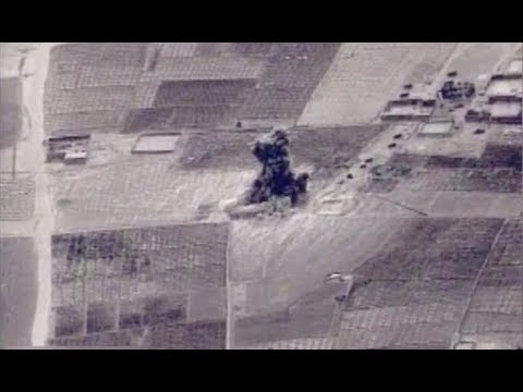 US Rocket Blows Up Taliban Narcotics Plant