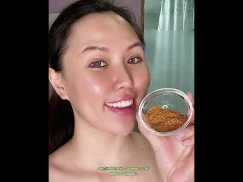 Joymix Coconut Sugar use in facial & body scrub