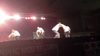 2013 BATTLEGROUNDS STEP SHOW- ALPHA IOTA KAPPA ALPHA PSI NPHC-MSU SECTION CHAMPIONS