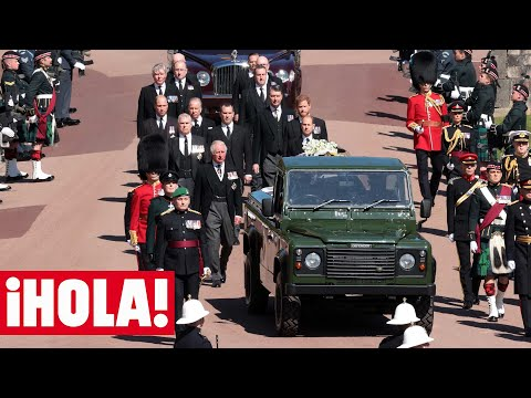Los detalles que han marcado la procesión del funeral de Felipe de Edimburgo