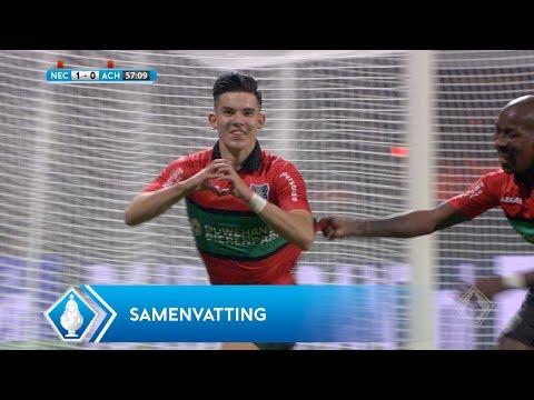 Highlights KNVB Beker: NEC - Achilles