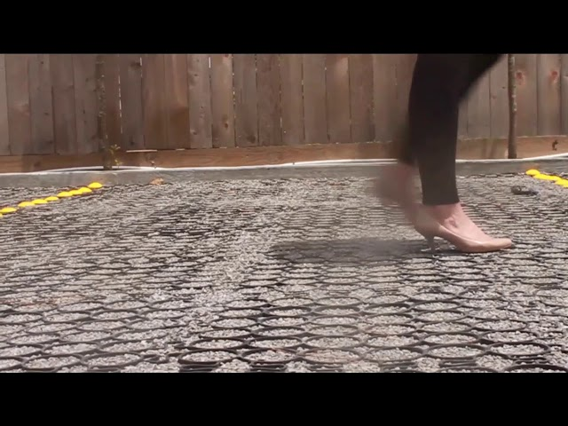 TRUEGRID® Permeable Pavers are High Heel Friendly.