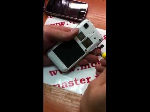 ремонт Samsung i9001 S plus замена модуля дисплея