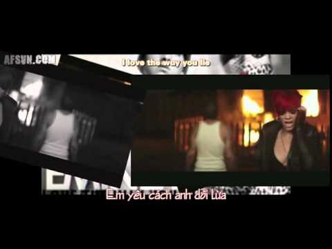 [Vietsub] Love The Way You Lie - Eminem ft. Rihanna lyrics [AFSvn]