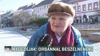 Nyugdíjak: Orbánnal beszélnének  - 20-01-21