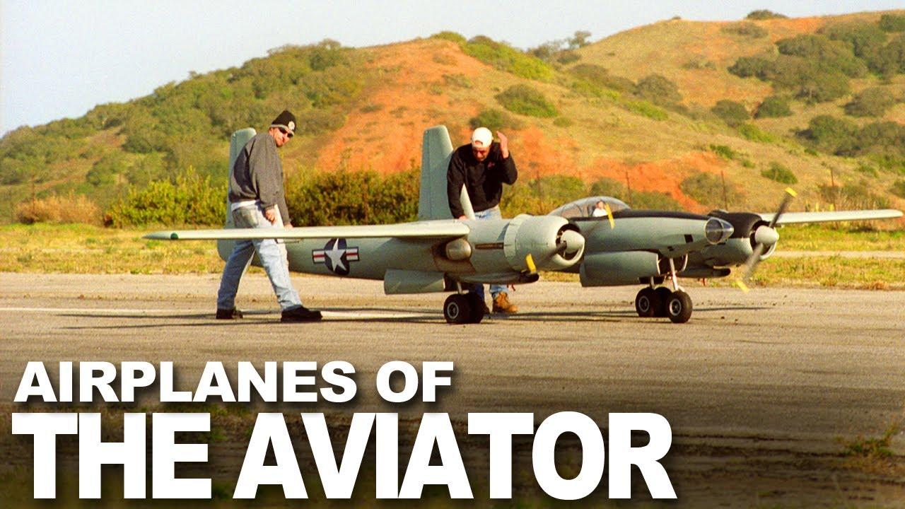 aviator movie jcbf  Hughes XF-11 and Spruce Goose Model from The Aviator Movie
