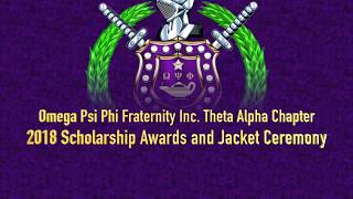 Theta Alpha Scholarship Awards and Spring 2018 Purple Jacket Ceremony