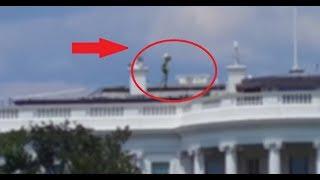 Na dachu Białego Domu nagrano KOSMITĘ? Nagranie obcego wywołało kontrowersję...?