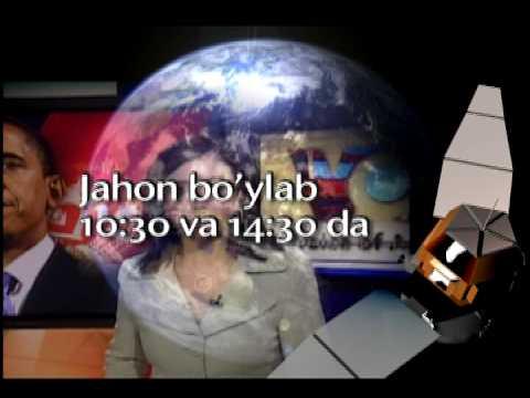 Amerika Ovozi TV - Sputnik ASIASAT-3, 340-370 kanal/VOA Uzbek Satellite Promo