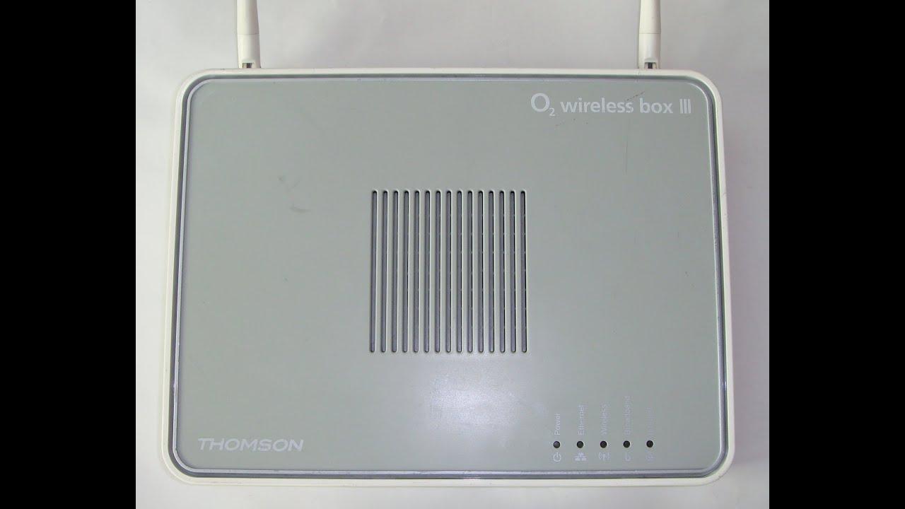 O2 Wireless Box III (TG585n) & IV (TG587nV2): Info and ...