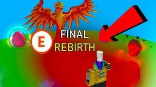 GETTING MY FINAL REBIRTH *BIG MOMENT* (Roblox Egg Hatching Simulator)
