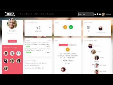 Hubfly Intranet | Unified Digital Workplace