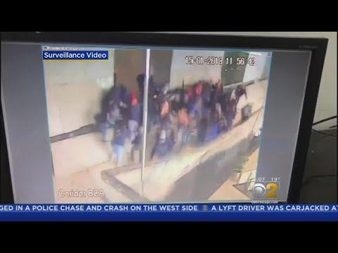 Floor Collapses At Indonesia Stock Exchange