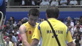 hd final ms lee chong we vs hu yun 2014 yonex japan open metlife bwf world superseries