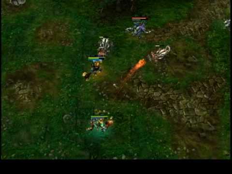 Heroes of Newerth (HoN) League of Legends (LoL) Defense Of The Ancients quando linvoker ha seicento incantesimi per disabilitare o rompere il cazzo.