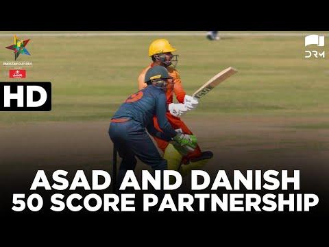 Asad And Danish 50 Score Partnership | Sindh vs Balochistan | Pakistan Cup 2021 | MA2T