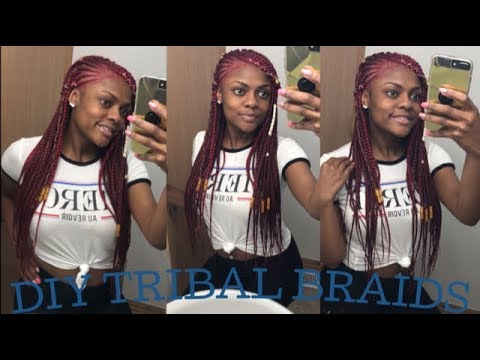 DIY Tribal Braids