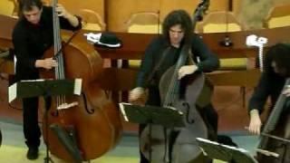 �������� ���� The Bass Gang  - Rock'nRoll Nr.9 - Double Bass Quartet ������