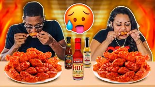 tasting-the-hottest-sauces-with-wings-challenge