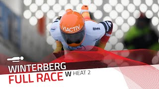 Winterberg | BMW IBSF World Cup 2020/2021 - Women's Skeleton Heat 2 | IBSF Official
