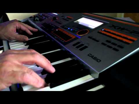 Blade Runner opening theme on a Casio XW-P1