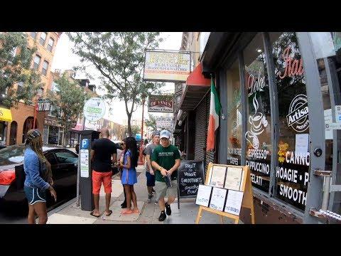 ⁴ᴷ Walking Tour Of Philadelphia, PA - South Street From University City To Penn's Landing